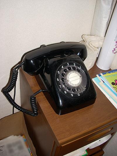 20100101黒電話