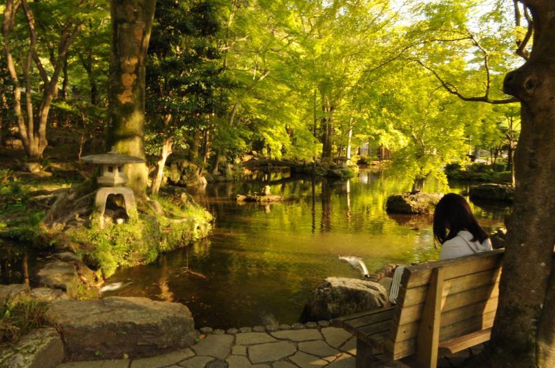 岐阜公園。