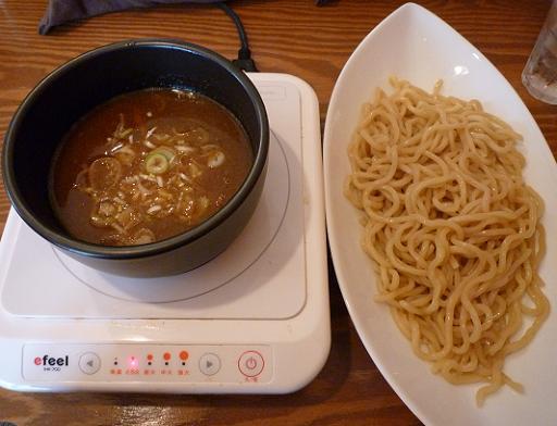『麺屋 天翔』 醤油つけ麺(750円)