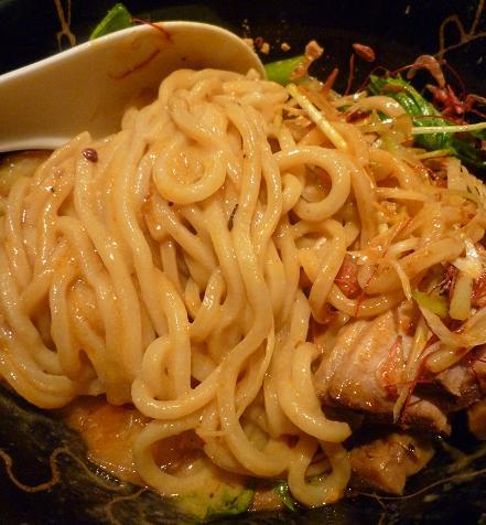 『麺喰屋 澤』 汁無担々麺(天地返し)