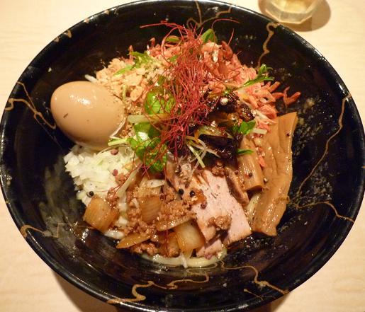 『麺喰屋 澤』 汁無担々麺(2009年9月限定・890円)