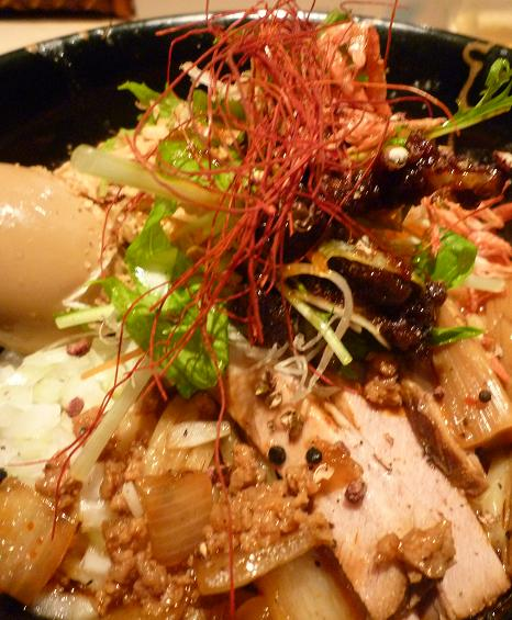 『麺喰屋 澤』 汁無担々麺(アップ)