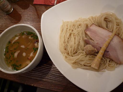 『らあめん 元』 塩つけ麺(800円)