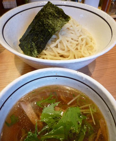『らぁ麺 あんど』 塩つけ麺(850円)