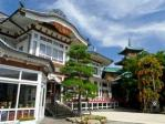 晴れている日の富士屋ホテル
