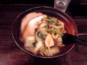 綿麺 フライデーナイト Part12 (11/10/28) お野菜のらーめん