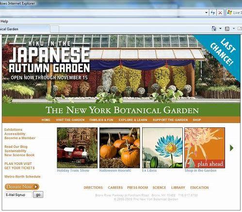 NY Botanical Garden Web2