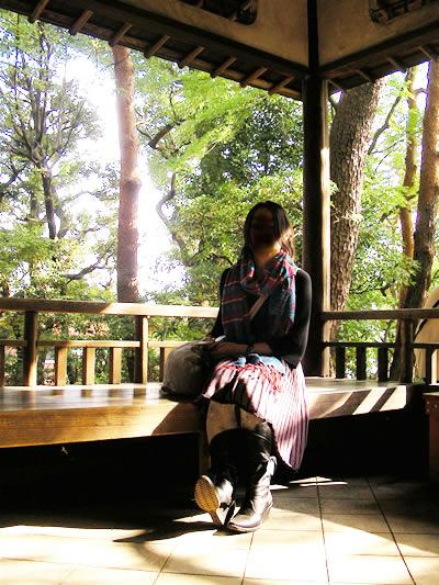 殿ヶ谷公園 茶室