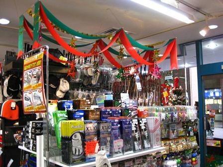 店内クリスマス装飾