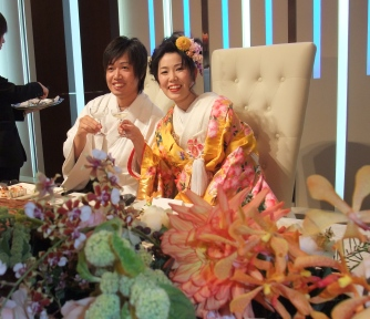 結婚式 097