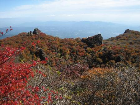 大船山の紅葉 風穴へ 077 - コピー
