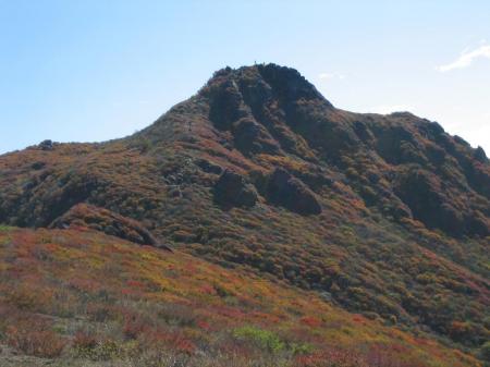 大船山の紅葉 風穴へ 085 - コピー