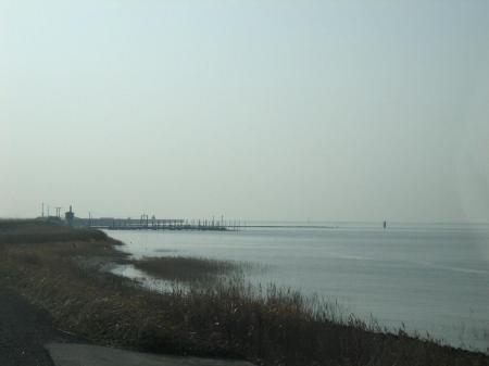 筑後川河口の朝 045