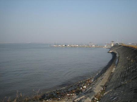 筑後川河口の朝 024 - コピー