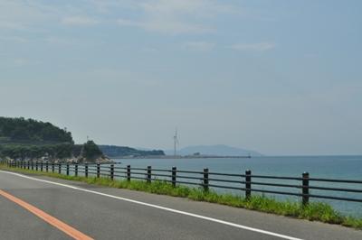 21.8.16  淡路島 おおきな扇風機ですね