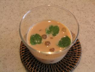 タピオカミルクティー汁粉