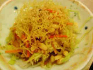豆腐サラダ090810