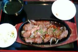 焼肉ランチ090819