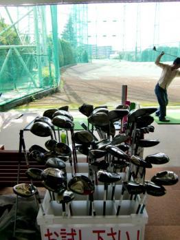 久地ゴルフ試打会