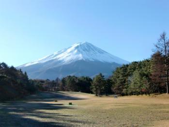 富士レイクサイドCC練習場