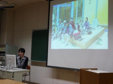 太田先生のご講演風景