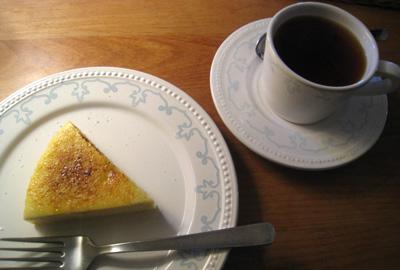 ローズソルトチーズケーキ