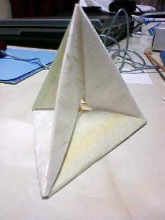 三角すいのスケルトン