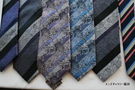 リードさんのジャガードネクタイ