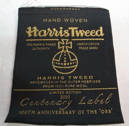 ハリスツイード100周年記念のタグ