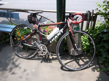 お客様の自転車