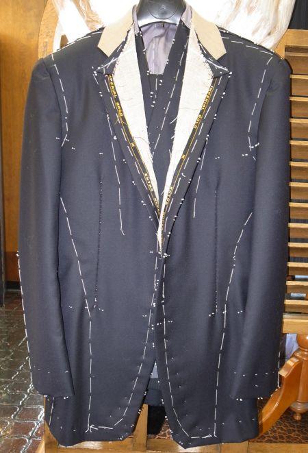 インペリアルゴールド仮縫い