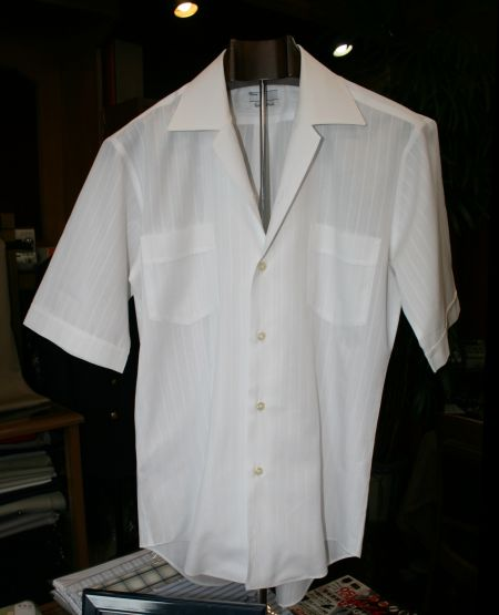 開襟・オープンシャツオーダー