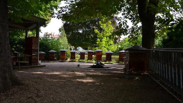 リュクサンブール公園の養蜂場