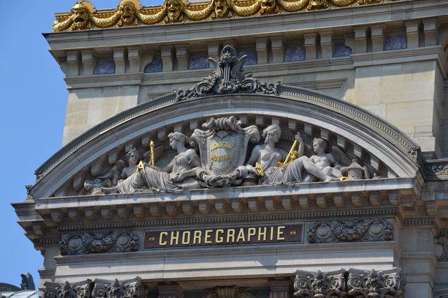 オペラ座のペディメント