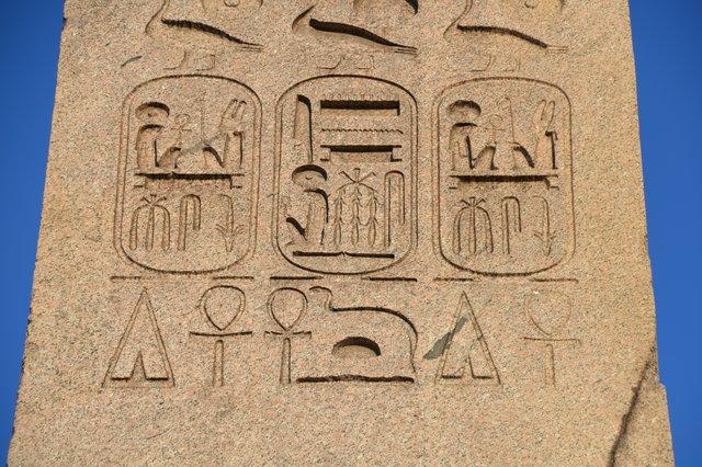 ルクソール神殿のオベリスク