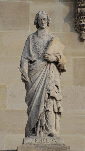 ルーヴル:フェヌロンの彫像