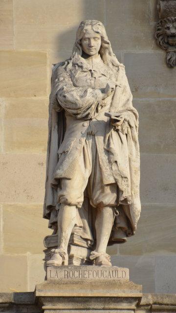 ルーヴル:ラ・ロシュフコーの彫像