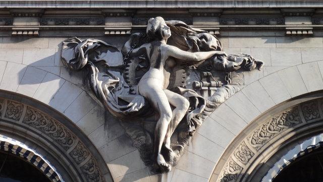 リヨン駅:彫像