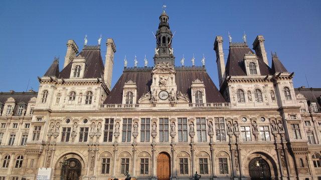 パリの市役所