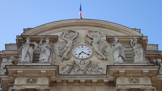 リュクサンブール宮殿の時計