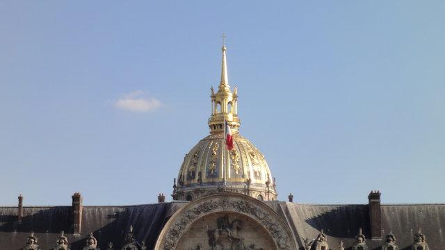 ザンヴァリッドのドーム