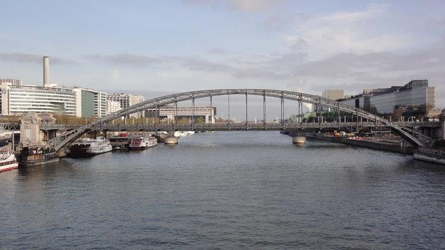 オーステルリッツ高架橋やセーヌ川や