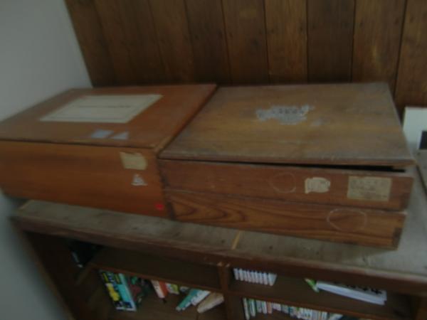 木のお道具箱