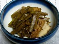 食 フキノトウと厚揚げの炒め煮 110508_cIMG_9663