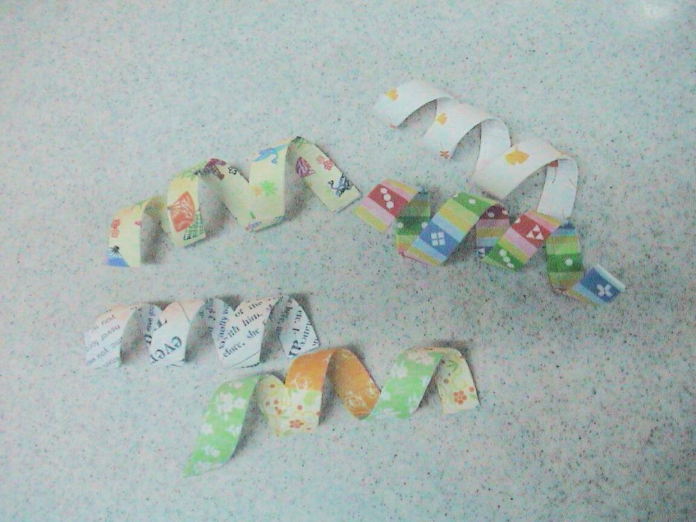 すべての折り紙 リボンの折り方 折り紙 : コツコツ のんびり 収納 2009年10 ...