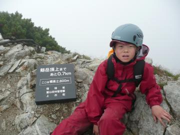 2800m道標