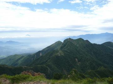富士と権現