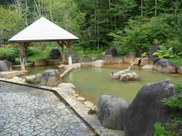 濁河温泉・市営露天風呂