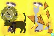 猫のいるタングラム