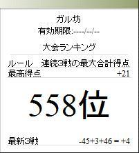 雀荘ブンブン第7回記録